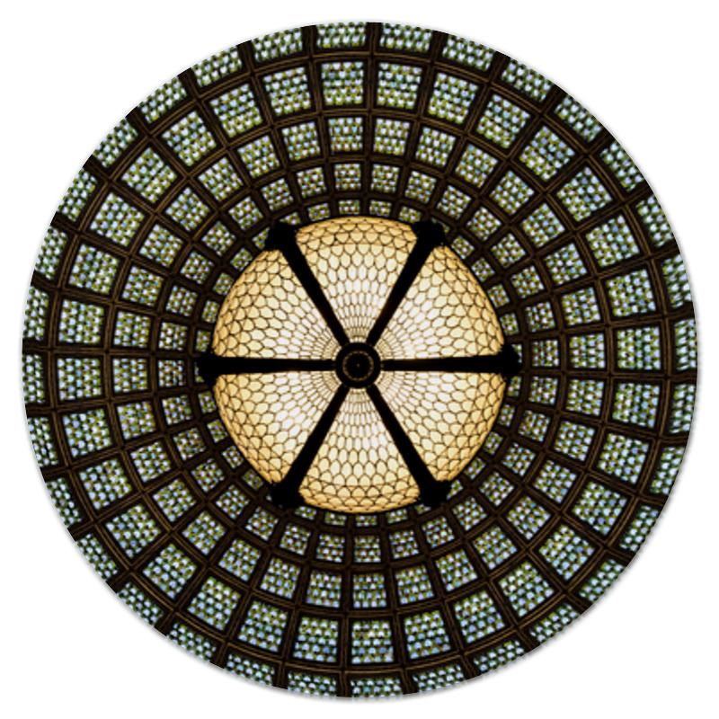 Коврик для мышки (круглый) Printio Паутина света паутина страсти