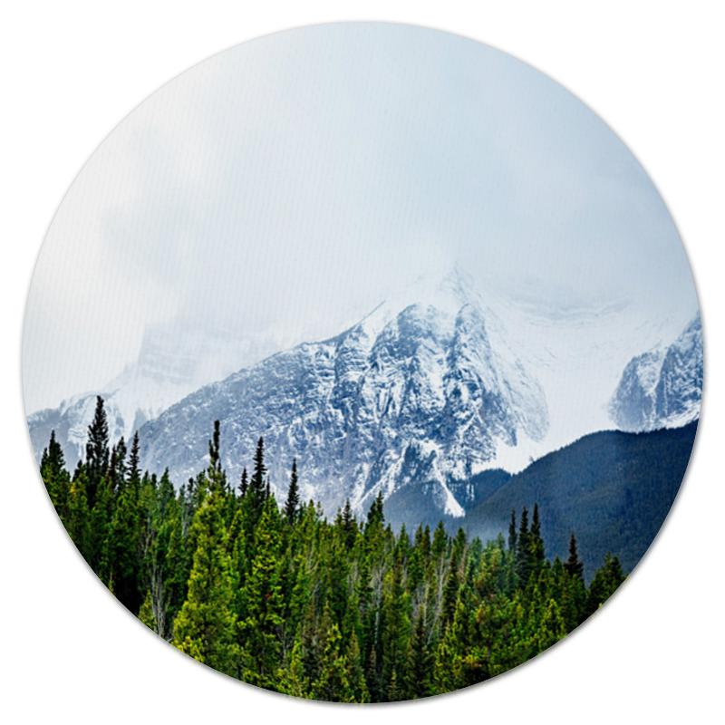 Коврик для мышки (круглый) Printio Ледяная гора цена
