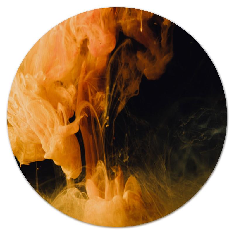 Коврик для мышки (круглый) Printio Клубы дыма