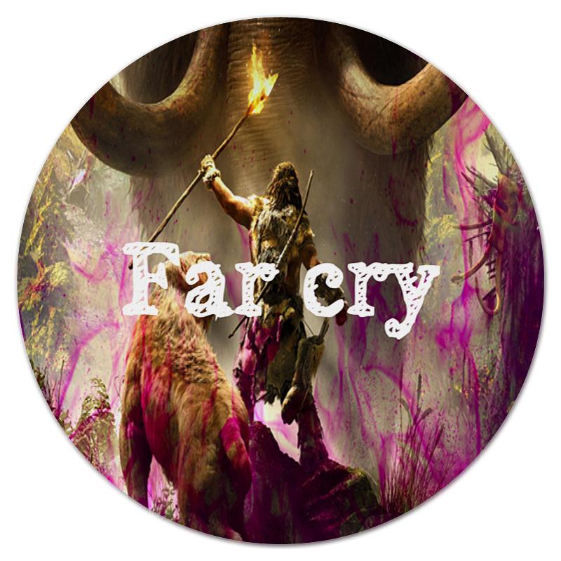 Коврик для мышки (круглый) Printio Far cry автомагнитола far car l001