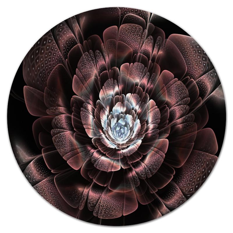 Коврик для мышки (круглый) Printio Цветок набор вышиваем коврик цветок 25х30 см 43219