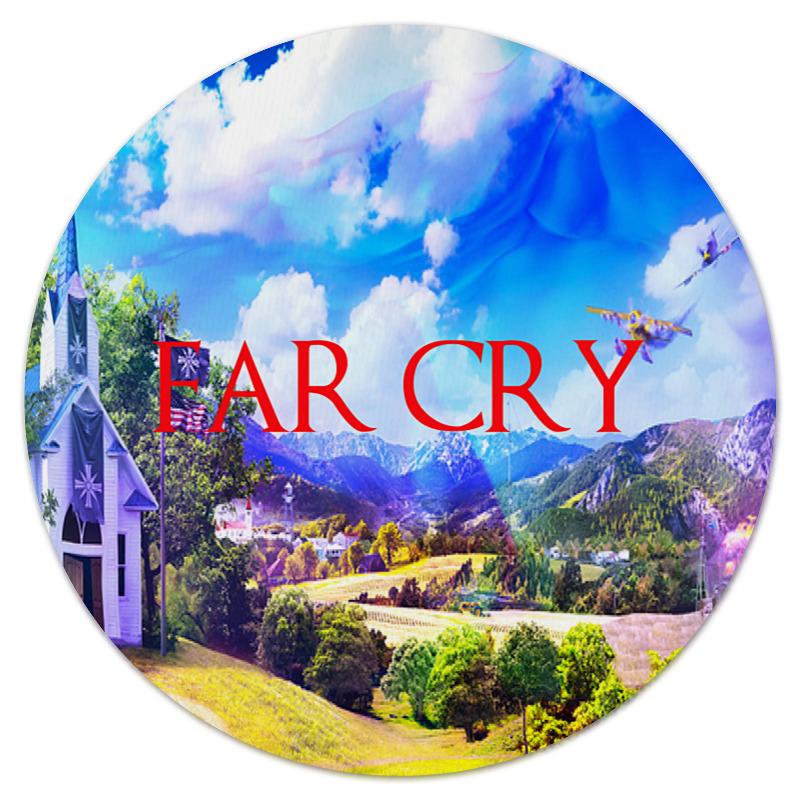 Коврик для мышки (круглый) Printio Far cry видеоигра для ps4 dmc devil may cry