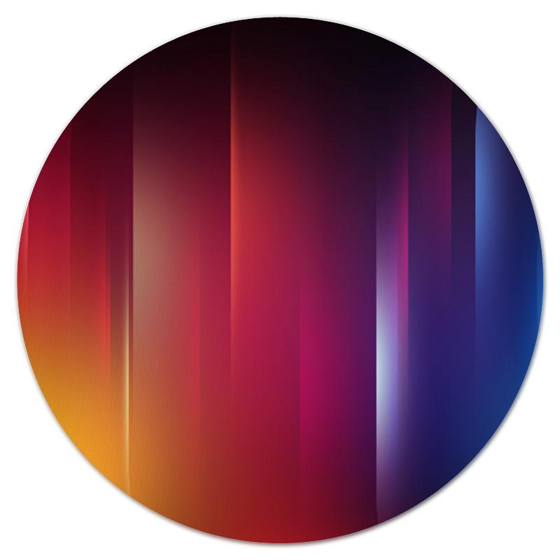 Коврик для мышки (круглый) Printio Переход цвета