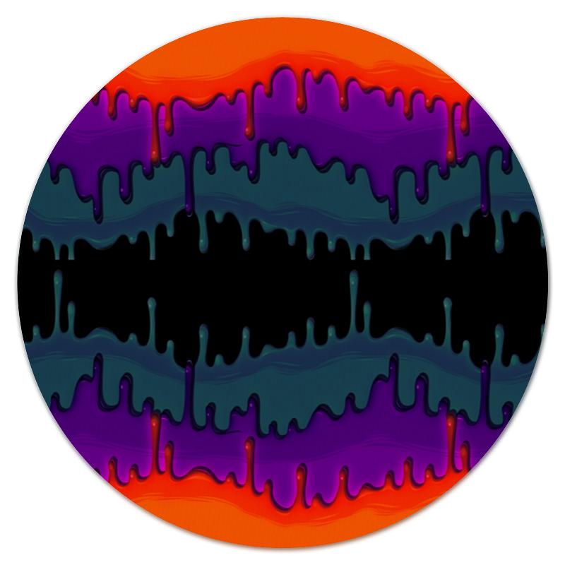 Коврик для мышки (круглый) Printio Акварельные краски