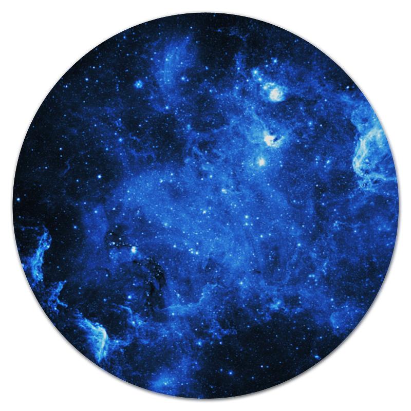 Коврик для мышки (круглый) Printio Космические вспышки