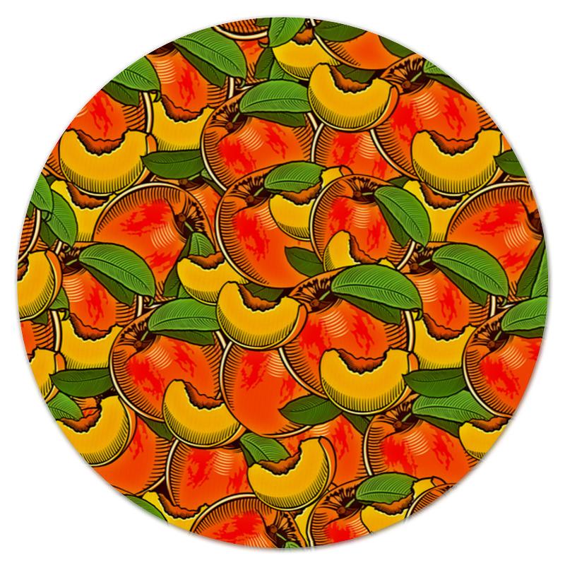 Коврик для мышки (круглый) Printio Персик