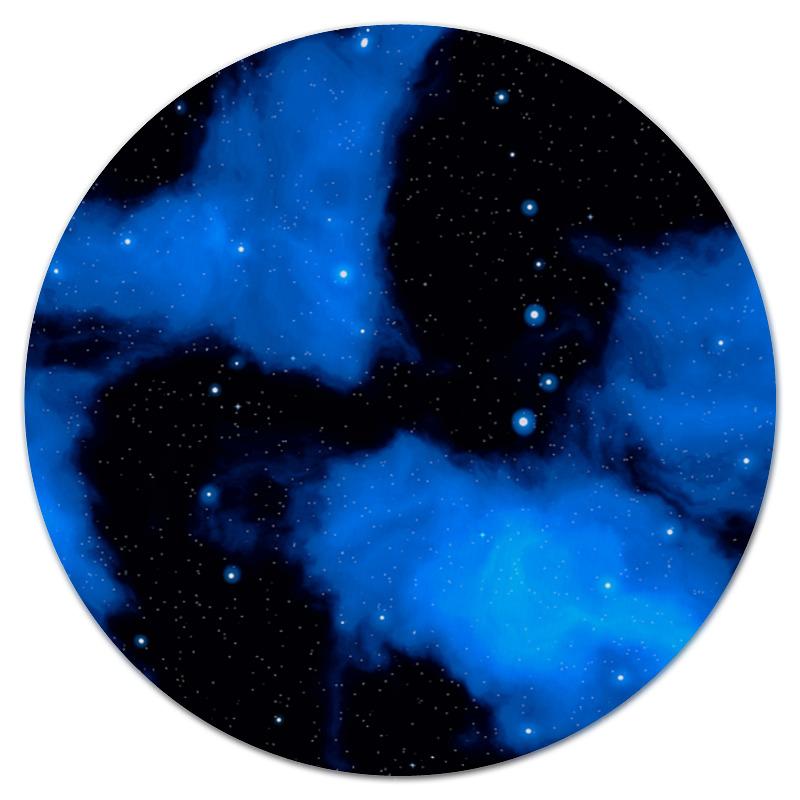 Коврик для мышки (круглый) Printio Звездное небо коврик для мышки круглый printio лунное небо