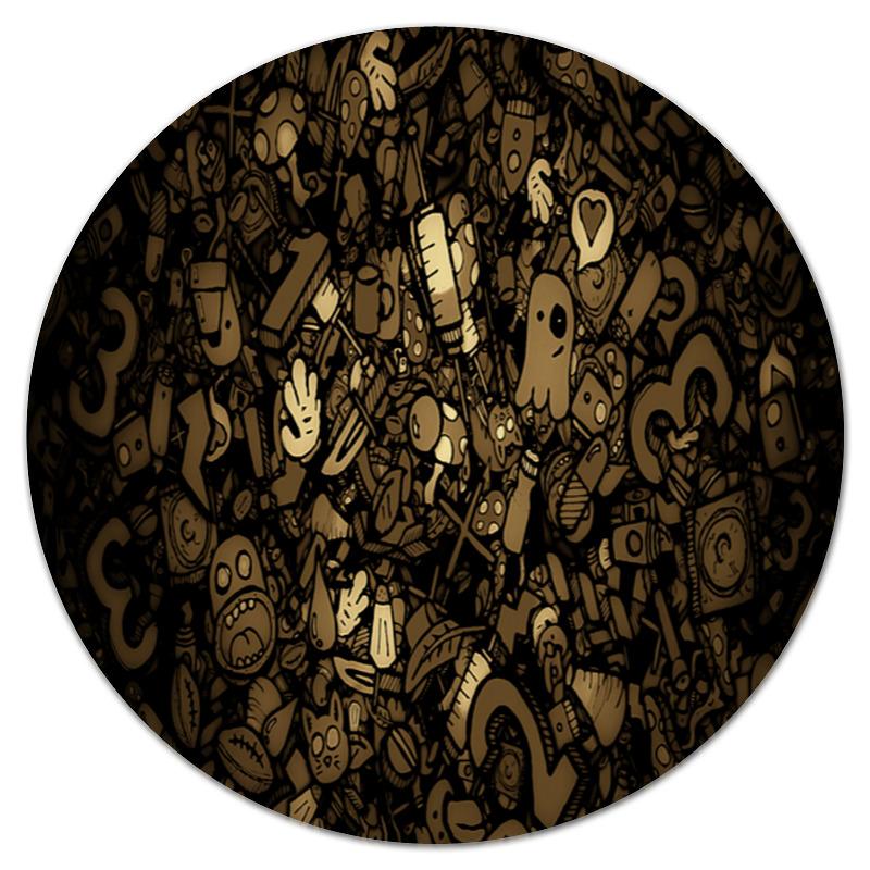 Коврик для мышки (круглый) Printio Игрушки