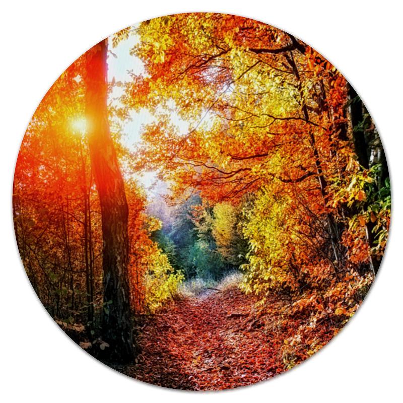 Printio Осенний пейзаж коврик для мышки круглый printio осенний лес