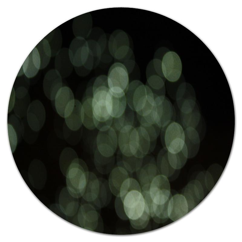 Коврик для мышки (круглый) Printio Световые блики коврик для мышки круглый printio козел