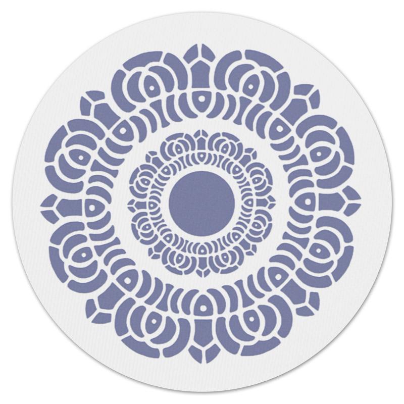 Коврик для мышки (круглый) Printio Символ лотоса коврик для мышки круглый printio кленовые листья