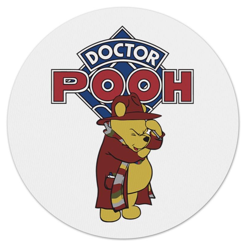 Коврик для мышки (круглый) Printio Doctor pooh сарафаны doctor e сарафан
