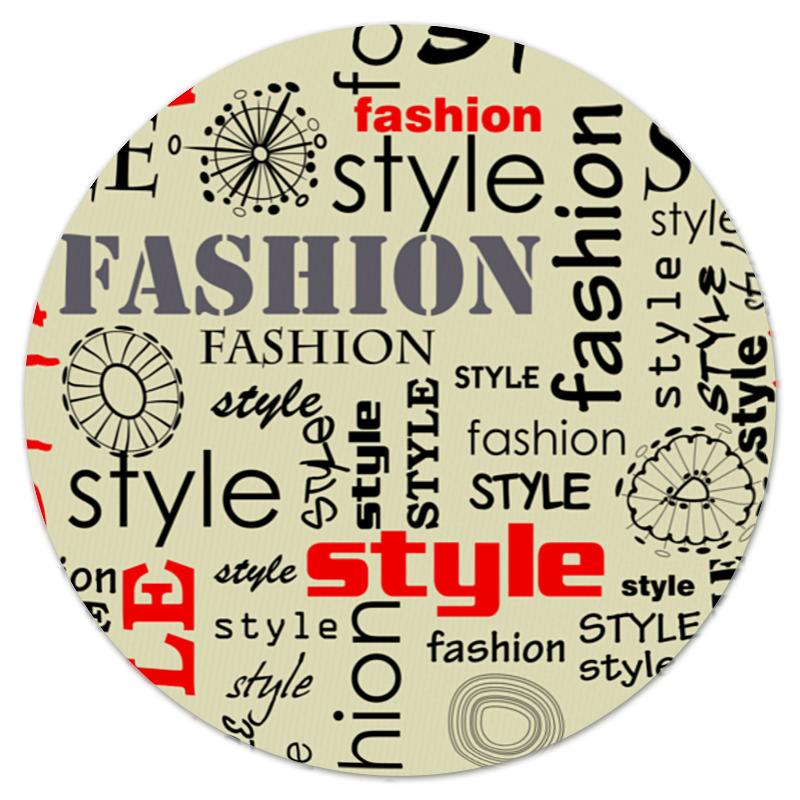 Коврик для мышки (круглый) Printio Fashion style леггинсы printio fashion style