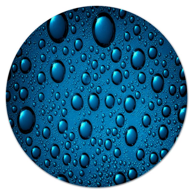 Коврик для мышки (круглый) Printio Капли воды л52 ленинг капли для приема внутрь 30мл