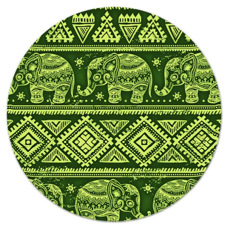Коврик для мышки (круглый) Printio Слоны