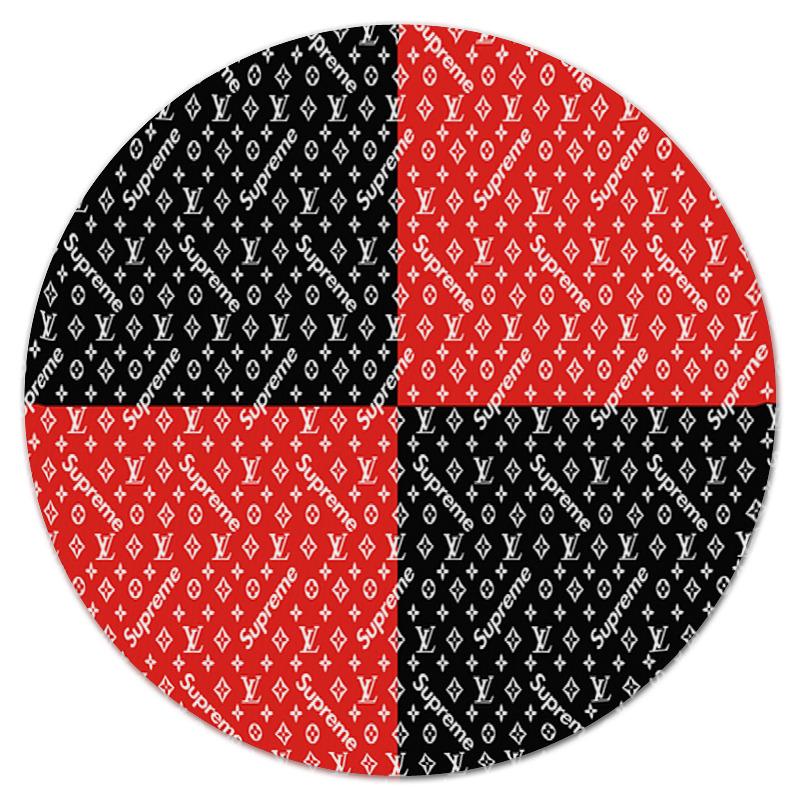 Коврик для мышки (круглый) Printio Supreme коврик для мышки круглый printio одуванчик