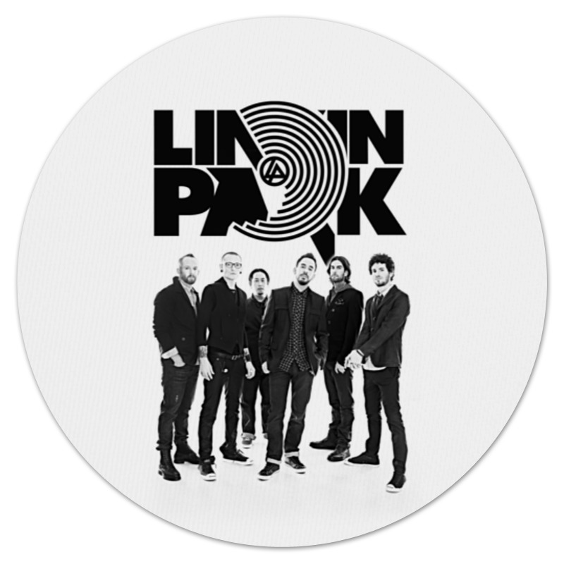 Коврик для мышки (круглый) Printio Linkin park