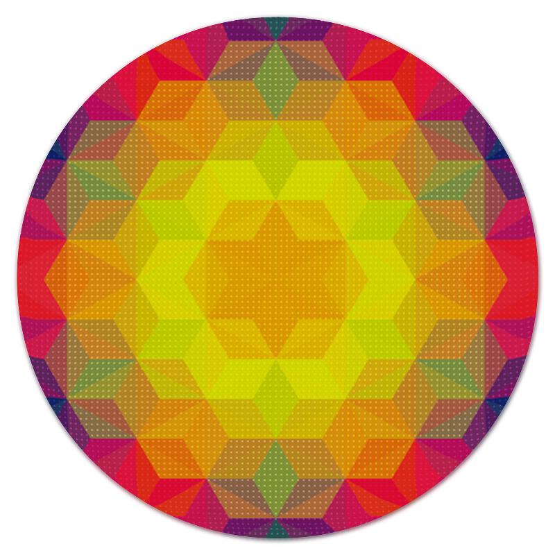 Коврик для мышки (круглый) Printio Графический узор графический дизайн