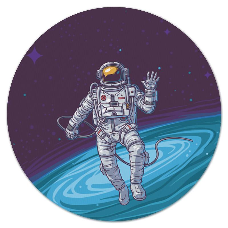 Коврик для мышки (круглый) Printio Привет из космоса