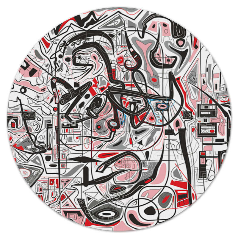 Коврик для мышки (круглый) Printio Mamewax коврик для мышки круглый printio леденцы
