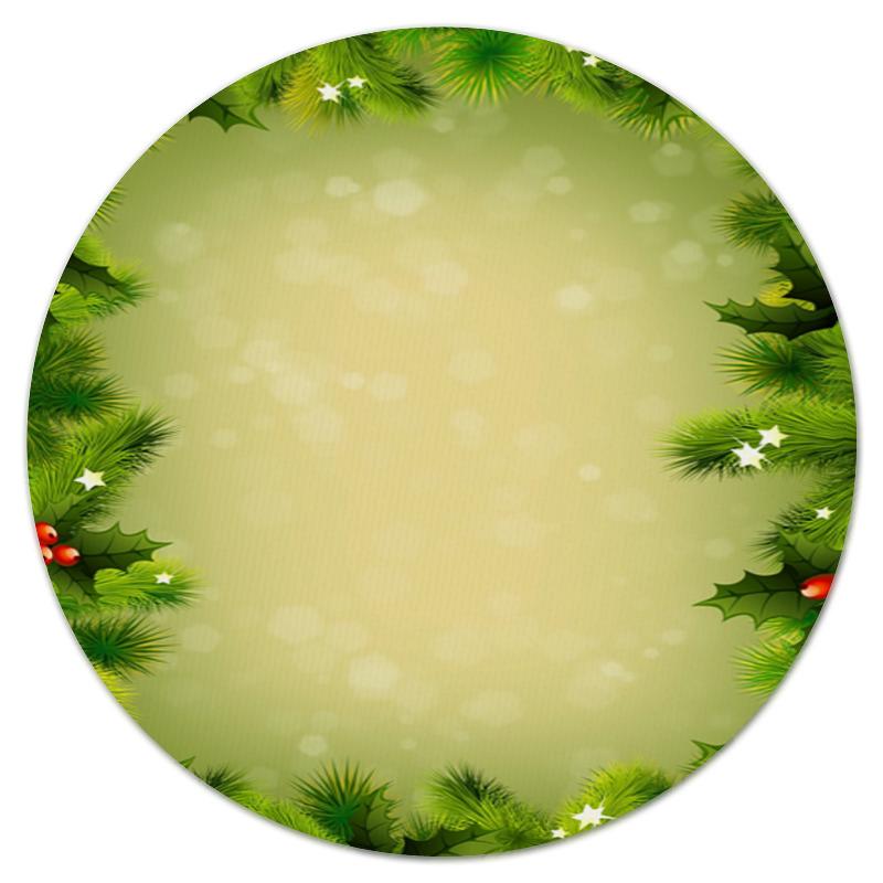 Коврик для мышки (круглый) Printio Для новогодних подарков