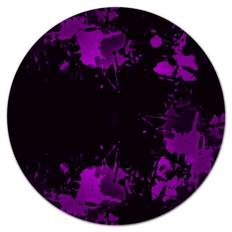 Коврик для мышки (круглый) Printio Брызги красок