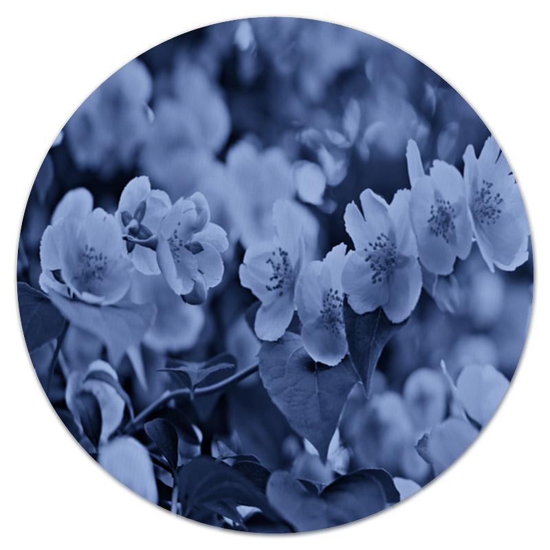 Коврик для мышки (круглый) Printio Цветки