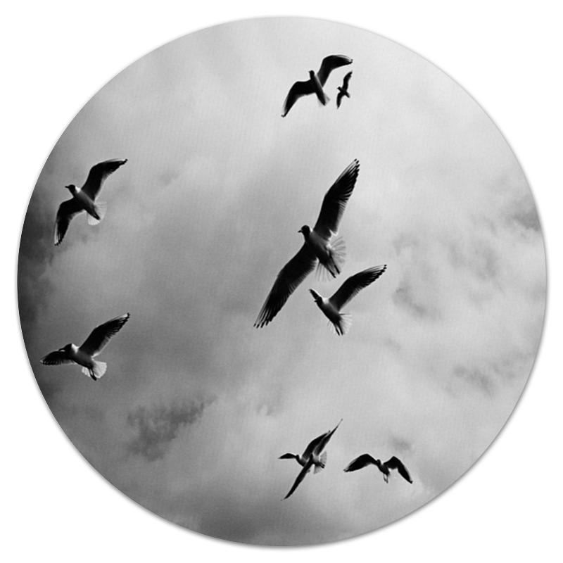 Коврик для мышки (круглый) Printio Птицы инкубаторы для птицы автоматические