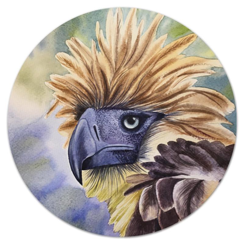 Коврик для мышки (круглый) Printio Филиппинский орел