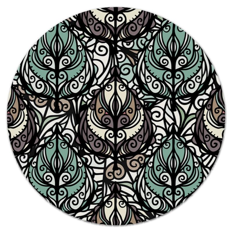 Коврик для мышки (круглый) Printio расписные цветы коврик для мышки круглый printio цветы фэнтези