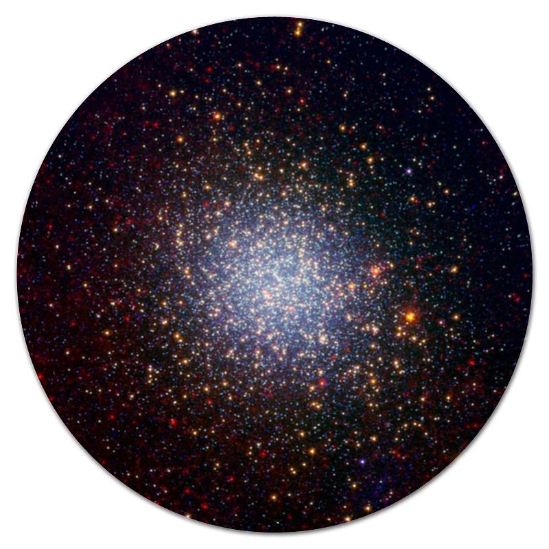 Коврик для мышки (круглый) Printio Вспышки звезд