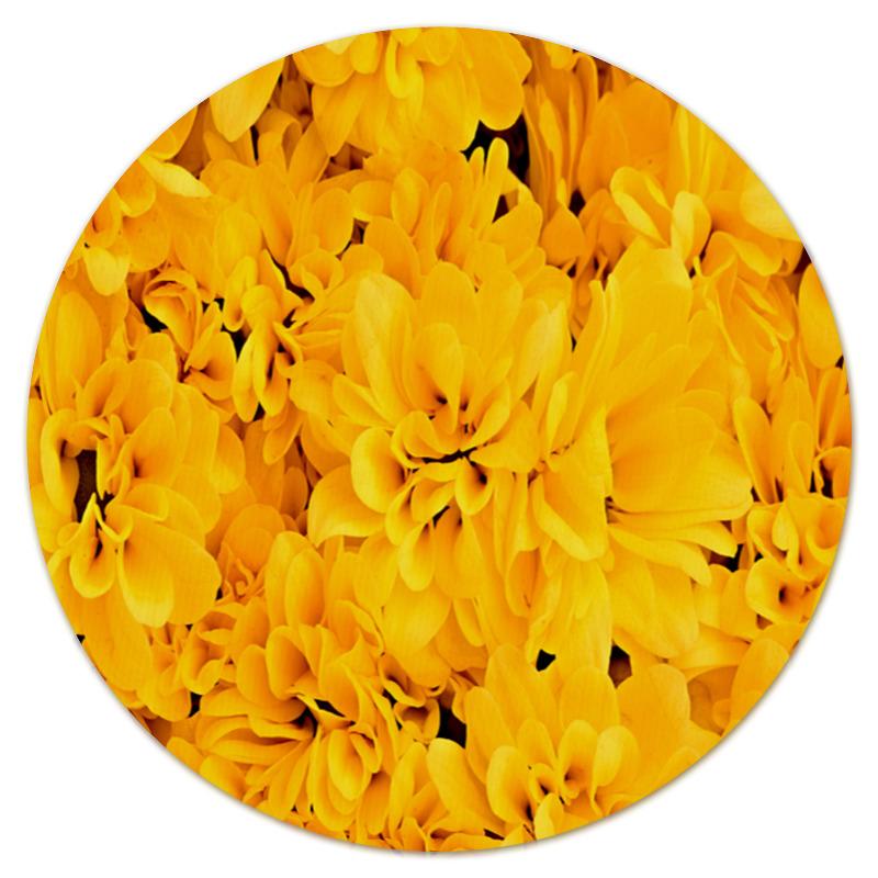 Фото - Printio Желтые цветы коврик для мышки printio цветы