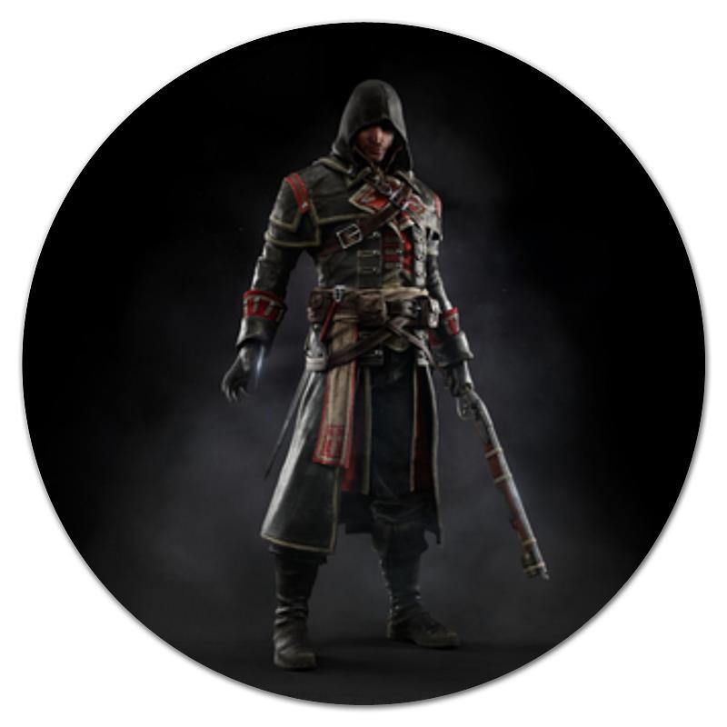 Коврик для мышки (круглый) Printio Assassins creed (rogue)