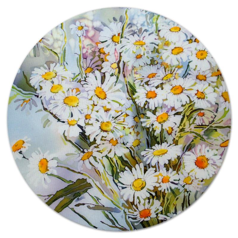 Коврик для мышки (круглый) Printio Букет ромашек набор для вышивания крестом букет полевых цветов риолис 924