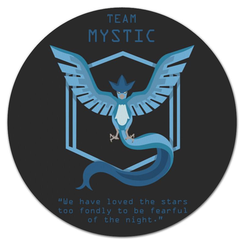 Коврик для мышки (круглый) Printio Team mystic коврик для мышки круглый printio герой вашей любимой игры