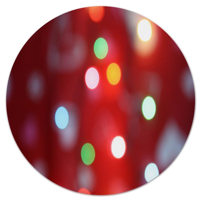 Коврик для мышки (круглый) Printio Блестящие круги