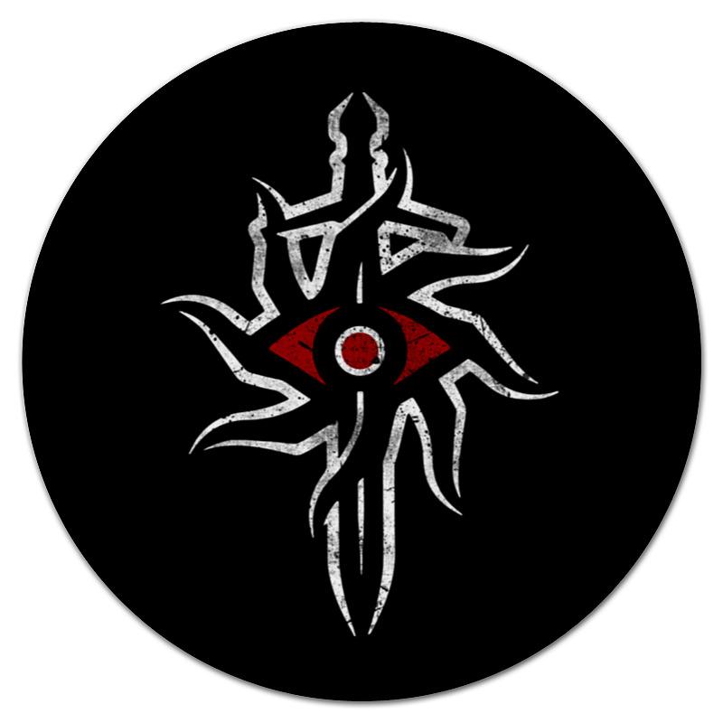 все цены на  Коврик для мышки (круглый) Printio Dragon age. инквизиция  онлайн