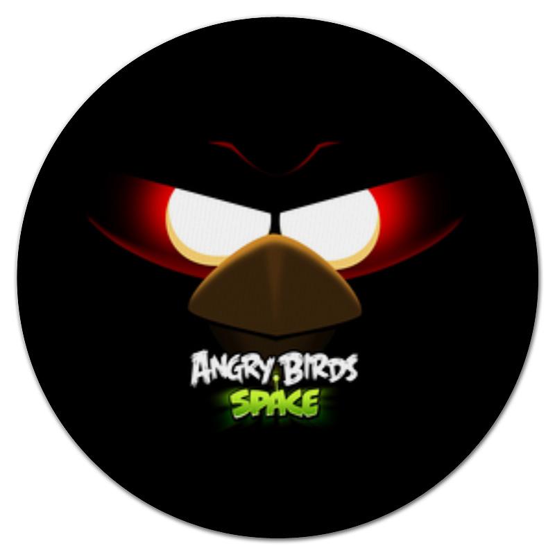 Коврик для мышки (круглый) Printio Space (angry birds) футболка wearcraft premium printio дроид k 2so