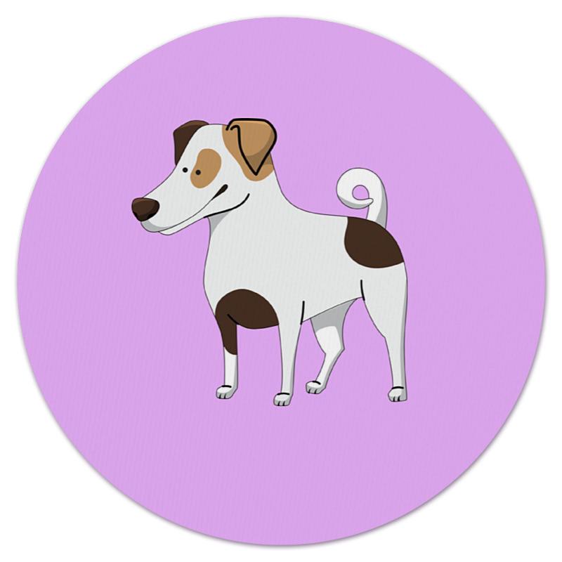Коврик для мышки (круглый) Printio Джек рассел.собака джек восьмеркин американец 2 dvd