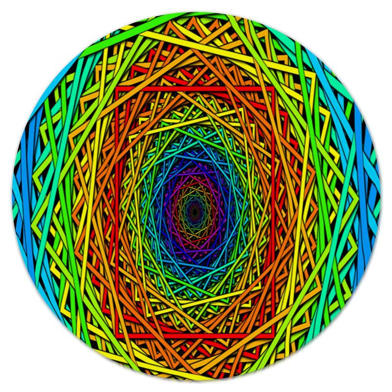 Коврик для мышки (круглый) Printio Абстрактные линии