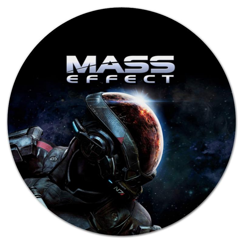 Коврик для мышки (круглый) Printio Mass effect цены