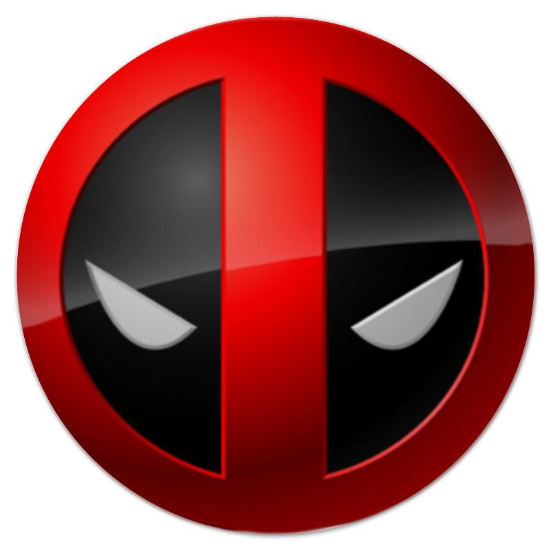 Коврик для мышки (круглый) Printio Deadpool цена