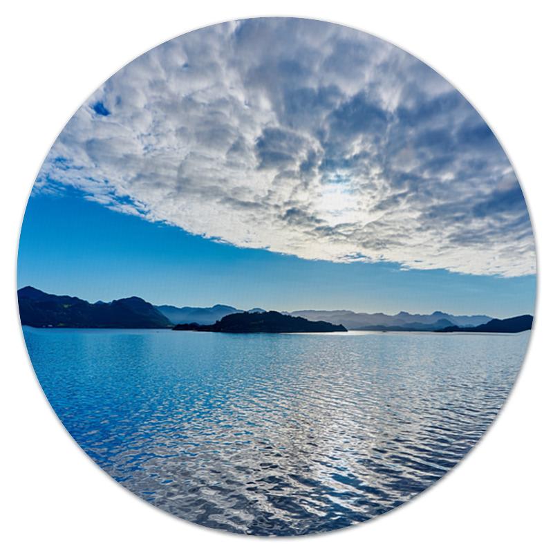 Коврик для мышки (круглый) Printio Остров в море смирнов в линейные километры или 400 дней в красном море непридуманная повесть