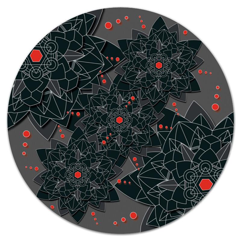 цена Printio Круглый black sacred geometry в интернет-магазинах