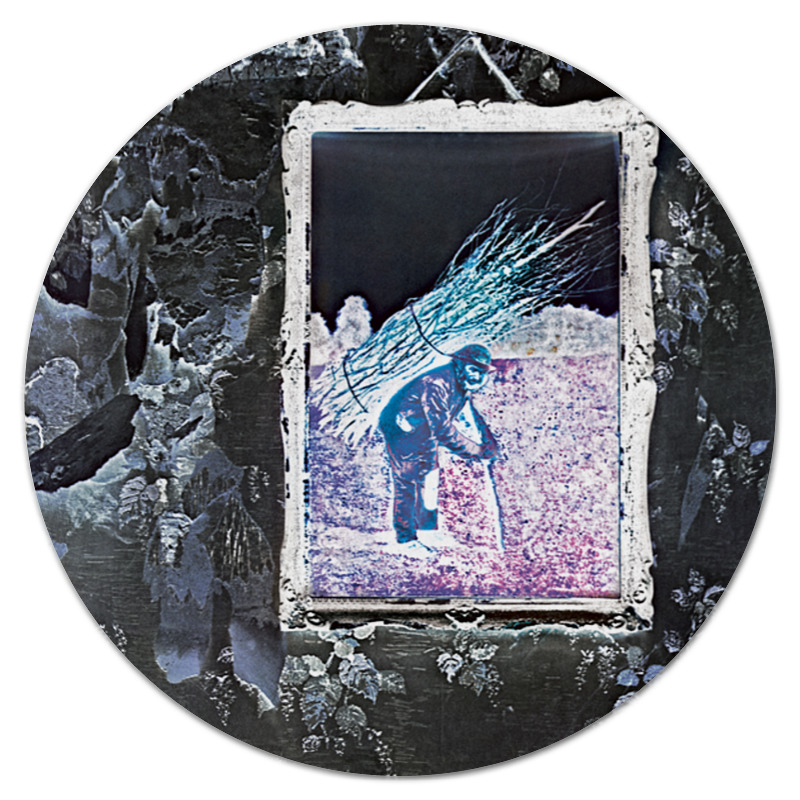 Коврик для мышки (круглый) Printio Led zeppelin iv alternative led zeppelin iv super deluxe edition box lp cd