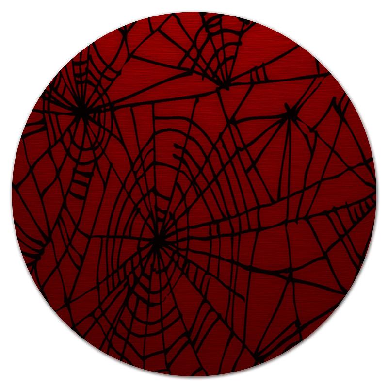 Коврик для мышки (круглый) Printio Паутина паутина страсти