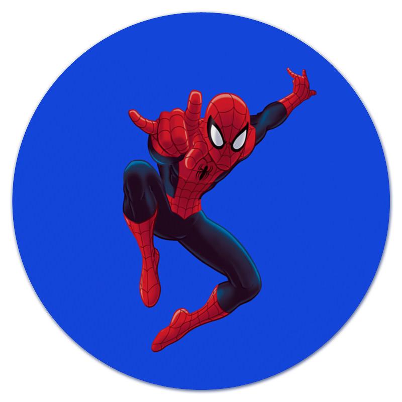 Коврик для мышки (круглый) Printio Человек-паук академия групп пенал человек паук