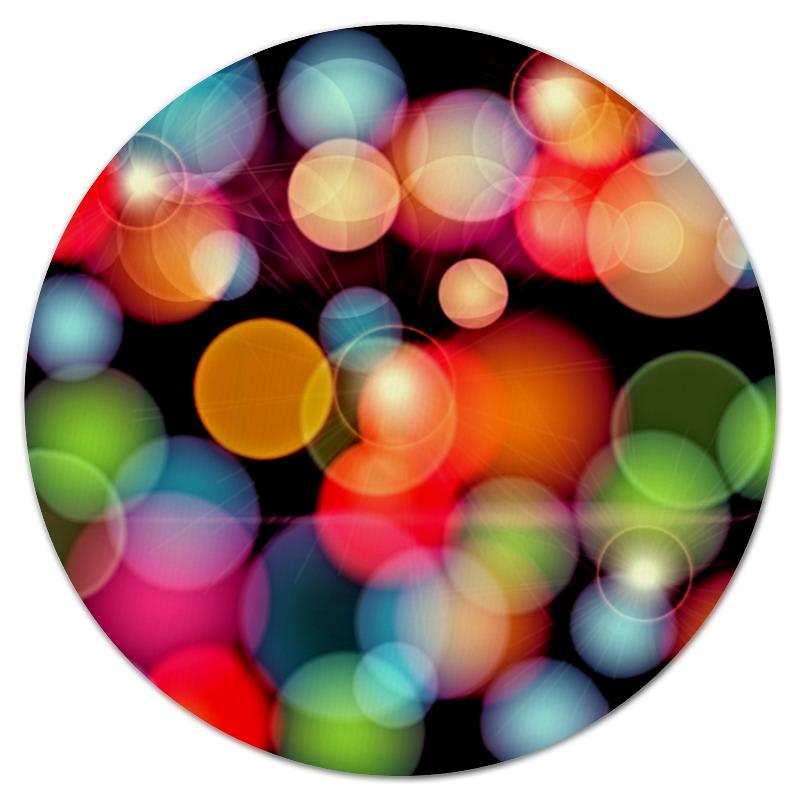 Коврик для мышки (круглый) Printio Солнечные блики