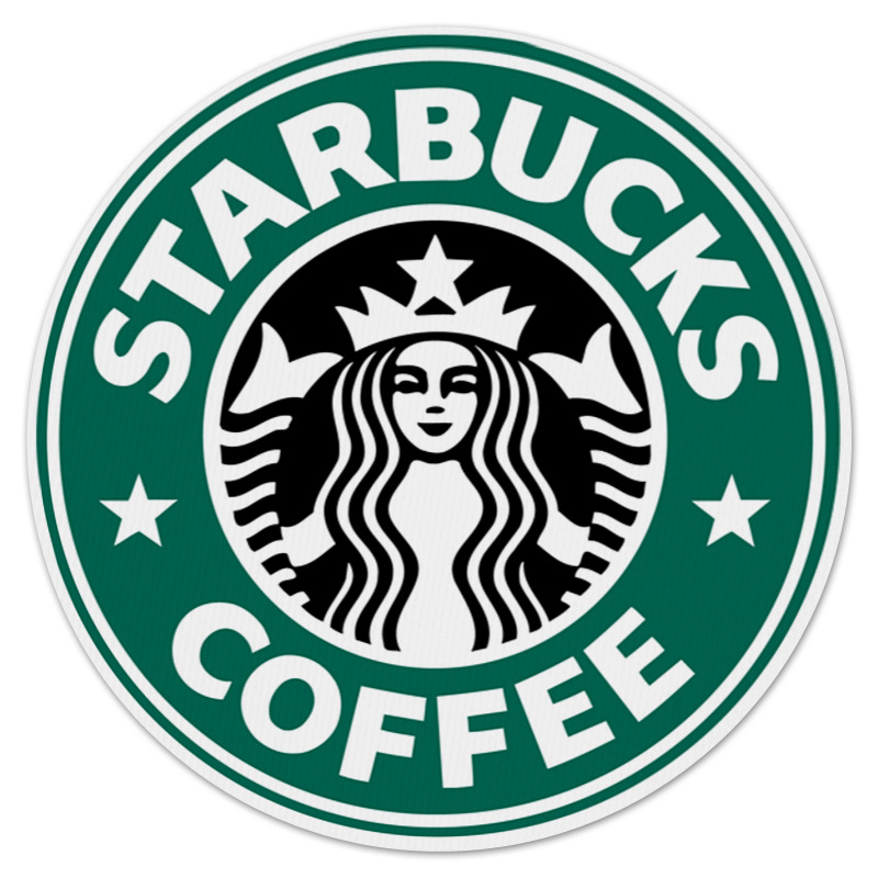 Коврик для мышки (круглый) Printio Starbucks цена 2017
