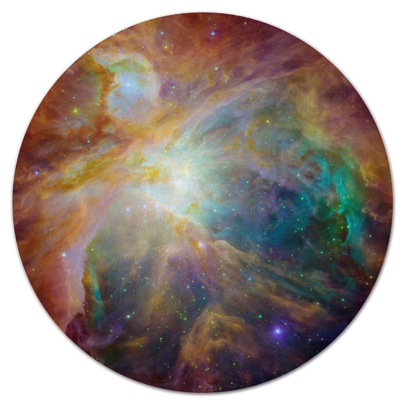 Коврик для мышки (круглый) Printio Космические краски